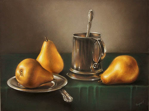 Fruit and Silver II ~ 11 x 14