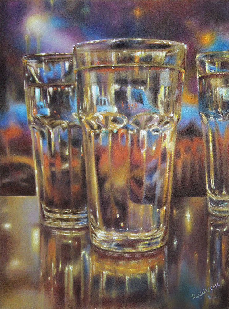 Carnival Glass II ~ SOLD