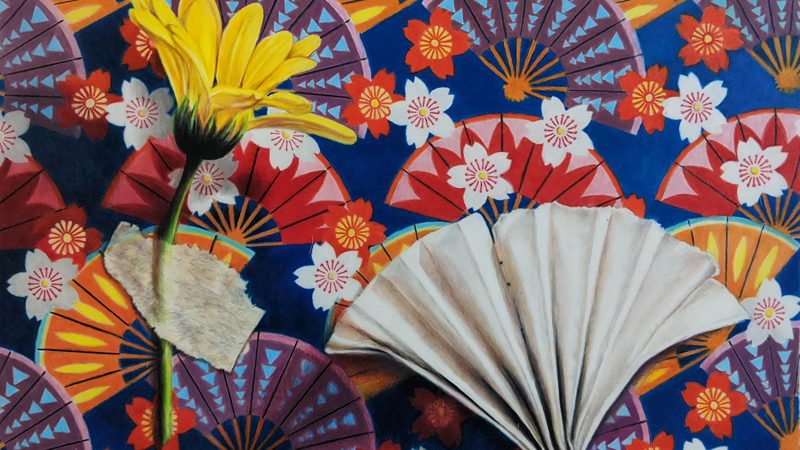 Colored Pencil Art, Origami, Illusion, Pattern
